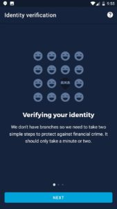 Monzo identity verification