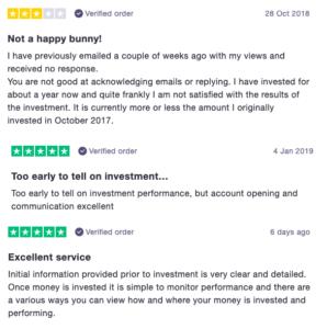 Click & Invest trustpilot reviews