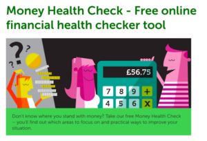 The Money Advice service financial health checker tool