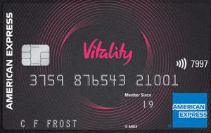 Vitality American Express credit card