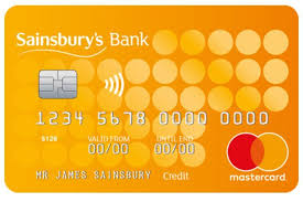 Sainsbury credit card