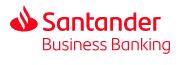 Santander business bank account