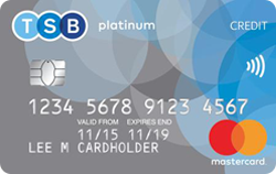 TSB balance transfer credit card