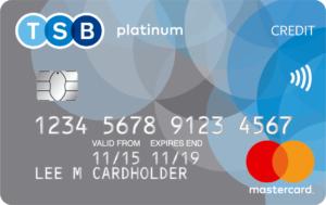 TSB purchase card
