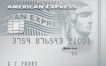 American Express Platinum everyday credit card
