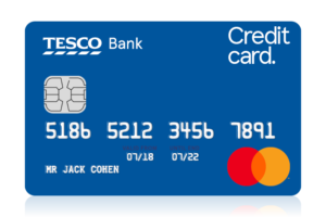 Tesco foundation credit card