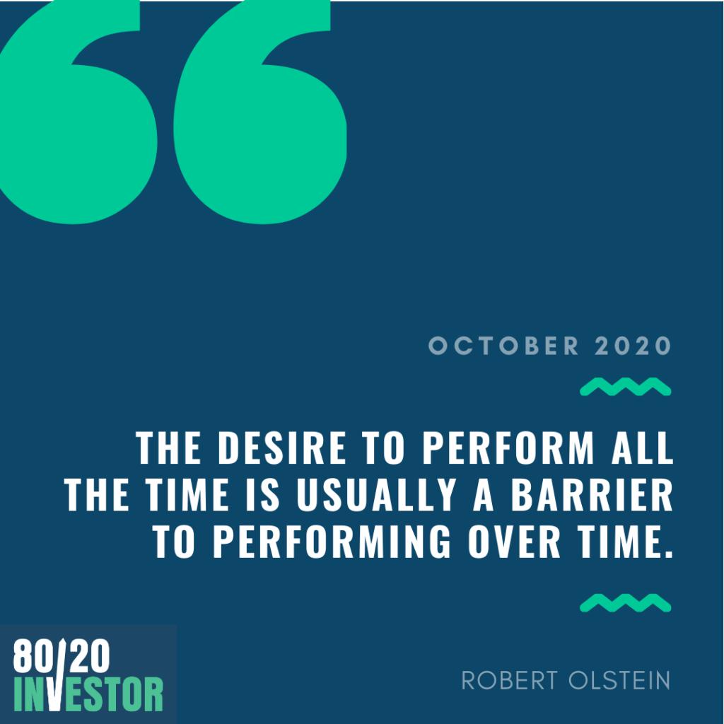 80-20 Investor Chatterbox October 2020