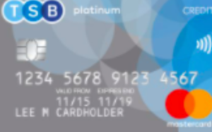 TSB Platinum Purchase credit card review