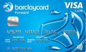 Barclaycard Forward credit card review