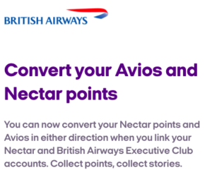 Avios & Nectar Merger - Why It Now Pays To Collect Avios