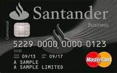 Santander Business Cashback credit card