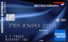 British Airways American Express Accelerating Business card