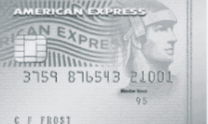 American Express Platinum Cashback Everyday credit card