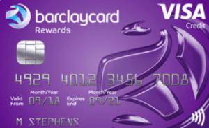 Barclaycard Rewards credit card