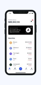 Coinbase Mobile – Home
