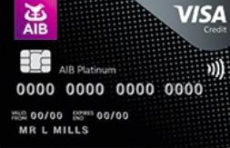 AIB Platinum credit card