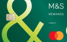 M&S Rewards credit card