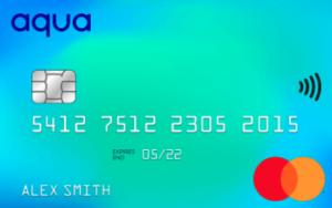 Aqua Advance credit card