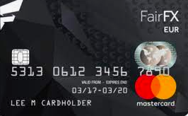 FairFX Dollar Currency card
