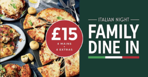 M&S Family Dine In Deal £15