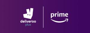 Deliveroo Plus Amazon Prime