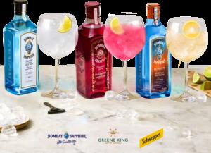 Bombay Sapphire Free Drink