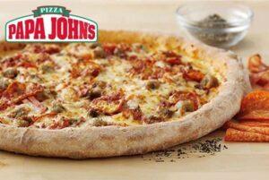 Papa Johns Pizza Deal