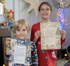Santa Letter from NSPCC